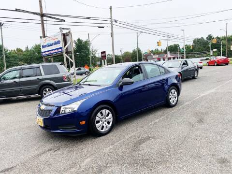 2013 Chevrolet Cruze for sale at New Wave Auto of Vineland in Vineland NJ