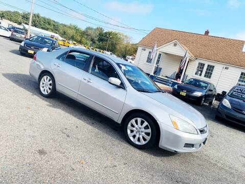 2007 Honda Accord for sale at New Wave Auto of Vineland in Vineland NJ
