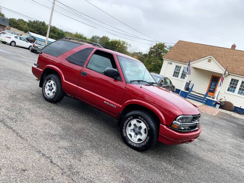 2002 Chevrolet Blazer for sale at New Wave Auto of Vineland in Vineland NJ