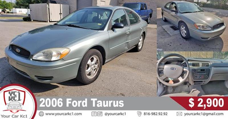 Ford Taurus For Sale At Your Car Kc In Kansas City Mo