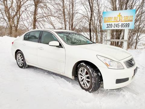 Glory Auto Sales >> Infiniti For Sale In Nelson Mn Glory Auto Sales