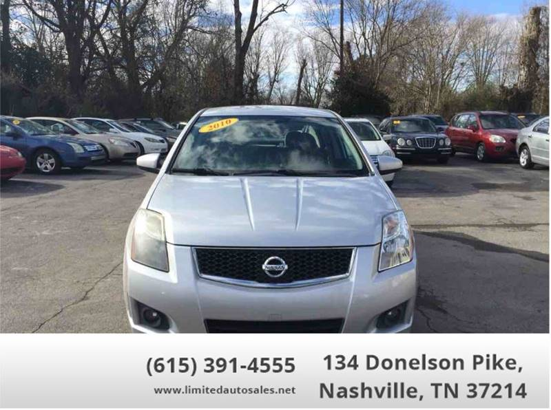 2010 Nissan Sentra For Sale At Limited Auto Sales Inc. In Nashville TN