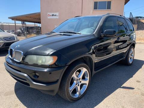 2002 BMW X5 4.4i for sale at Car Works in Saint George UT