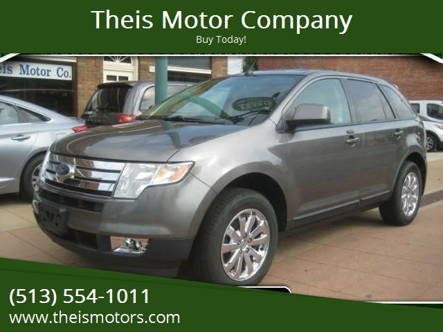 Ford Edge For Sale At Theis Motor Company In Reading Oh