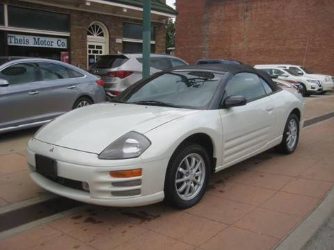 2001 Mitsubishi Eclipse Spyder >> 2001 Mitsubishi Eclipse Spyder For Sale In Reading Oh
