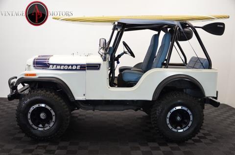1975 Jeep CJ-5 for sale in Statesville, NC