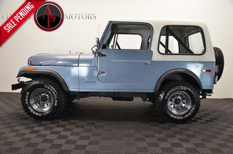 1976 Jeep CJ-7 for sale in Statesville, NC