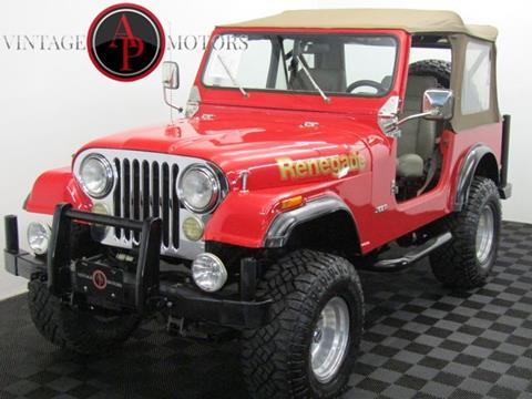 1978 Jeep CJ-7 for sale in Statesville, NC