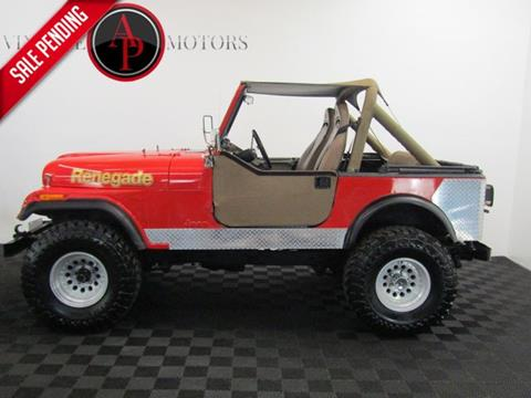 1984 Jeep CJ-7 for sale in Statesville, NC