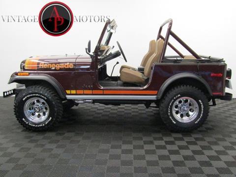1980 Jeep CJ-7 for sale in Statesville, NC