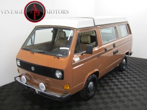 1981 Volkswagen Vanagon