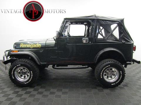 1985 Jeep CJ-7 for sale in Statesville, NC