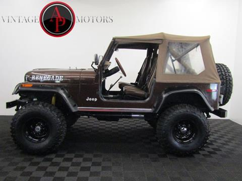 1979 Jeep CJ-7 for sale in Statesville, NC