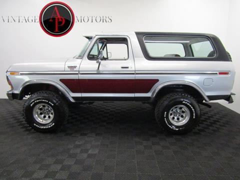 1979 Ford Bronco for sale in Statesville, NC