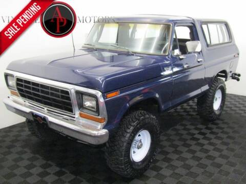 1978 Ford Bronco for sale at AP Vintage Motors in Statesville NC