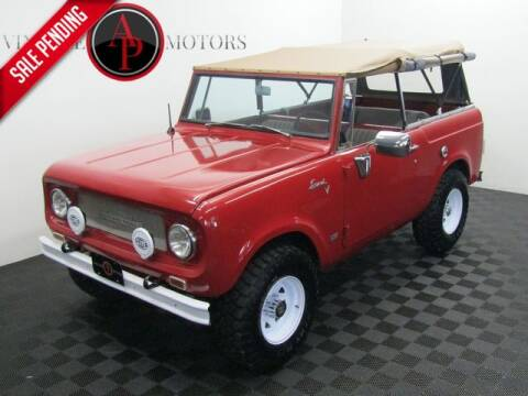 1969 International Scout for sale at AP Vintage Motors in Statesville NC