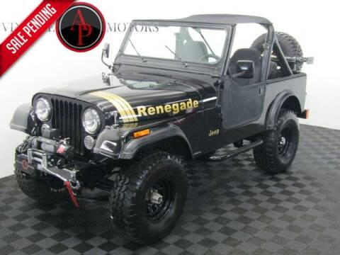 1985 Jeep CJ-7 for sale at AP Vintage Motors in Statesville NC
