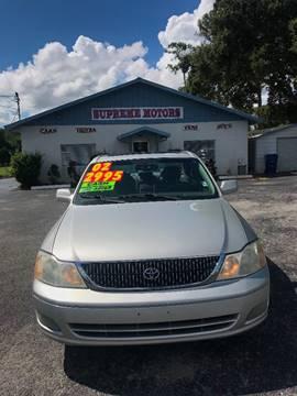 2002 Toyota Avalon for sale at Supreme Motors in Tavares FL