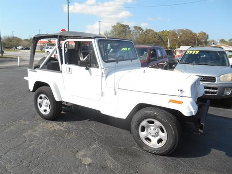 1991 Jeep Wrangler for sale in Pinellas Park, FL