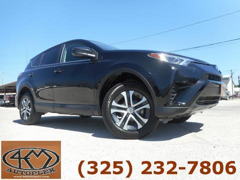 Used Cars Abilene Tx >> 2017 Toyota Rav4 For Sale In Abilene Tx