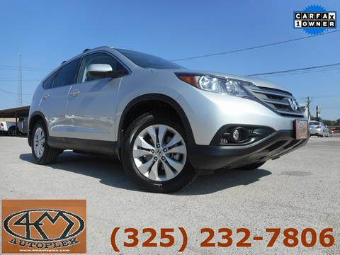 2013 Honda CR-V for sale in Abilene, TX