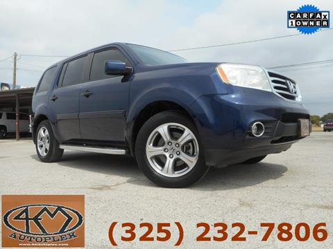 2013 Honda Pilot for sale in Abilene, TX