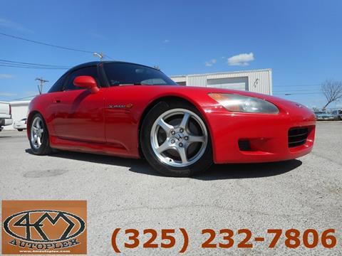 Honda Of Abilene >> Used 2001 Honda S2000 For Sale - Carsforsale.com®
