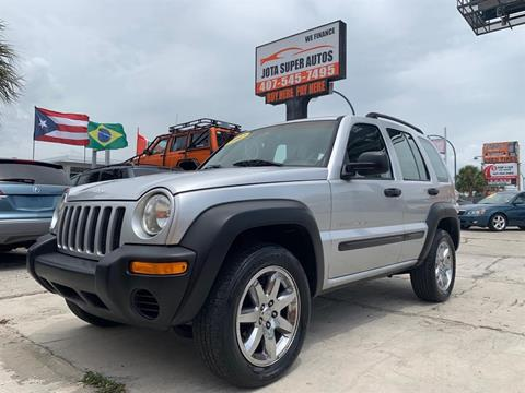 2002 Jeep Liberty for sale in Orlando, FL