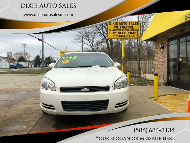 Dixie Auto Sales >> 2007 Chevrolet Impala Lt In Fair Haven Mi Dixie Auto Sales