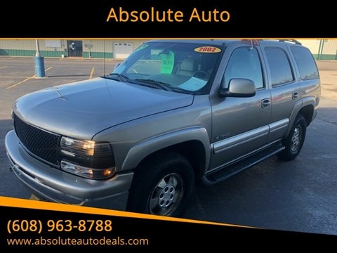 2002 Chevrolet Tahoe for sale in Baraboo, WI