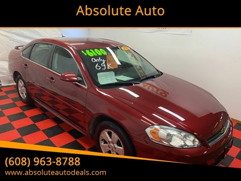 2010 Chevrolet Impala for sale in Baraboo, WI