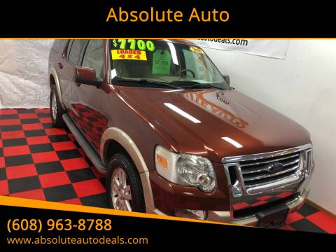 2010 Ford Explorer Eddie Bauer for sale at Absolute Auto in Baraboo WI