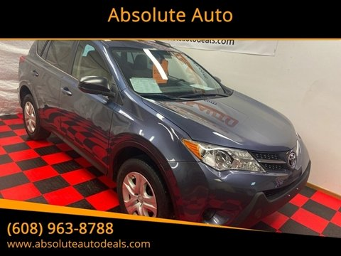 2013 Toyota RAV4 LE for sale at Absolute Auto in Baraboo WI