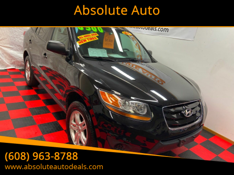 2011 Hyundai Santa Fe GLS for sale at Absolute Auto in Baraboo WI