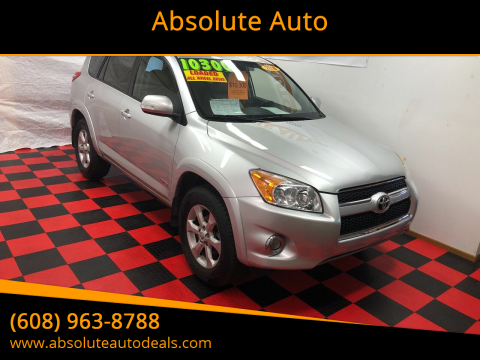2010 Toyota RAV4 Limited for sale at Absolute Auto in Baraboo WI