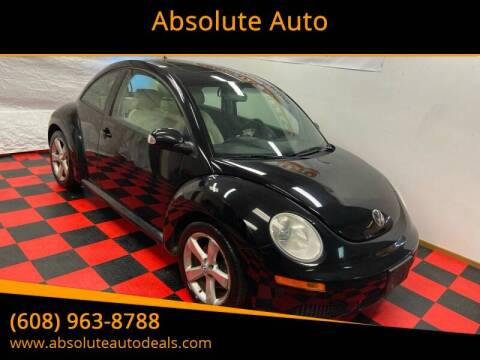 2008 Volkswagen New Beetle Triple White for sale at Absolute Auto in Baraboo WI