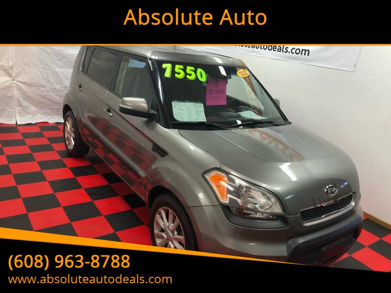 2012 Kia Soul for sale at Absolute Auto in Baraboo WI