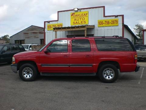 2001 Chevrolet Suburban for sale in Conroe, TX