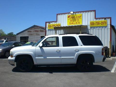 2002 Chevrolet Tahoe for sale in Conroe, TX