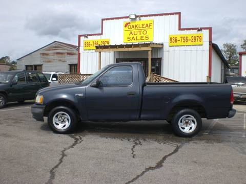 2001 Ford F-150 for sale in Conroe, TX