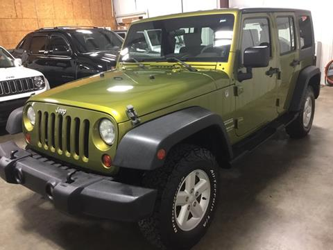 2010 Jeep Wrangler Unlimited for sale in Cartersville, GA