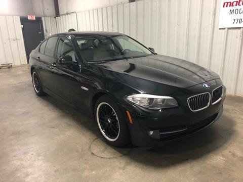 2011 BMW 5 Series for sale in Cartersville, GA