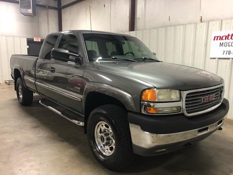 2002 GMC Sierra 2500HD for sale in Cartersville, GA