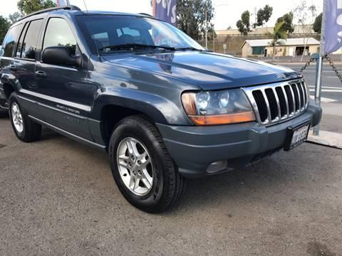 2002 Jeep Grand Cherokee for sale at Beyer Enterprise in San Ysidro CA