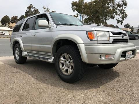 2001 Toyota 4Runner for sale at Beyer Enterprise in San Ysidro CA