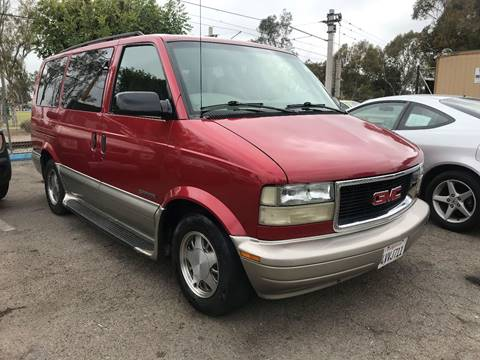 2002 GMC Safari for sale in San Ysidro, CA