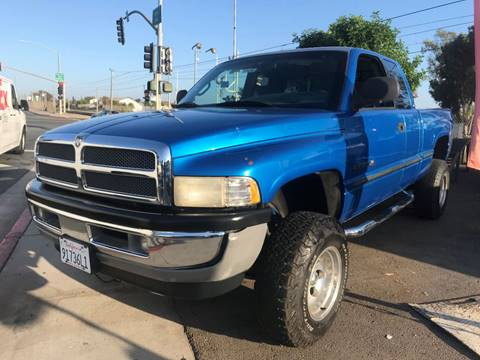 1998 Dodge Ram Pickup 1500 for sale at Beyer Enterprise in San Ysidro CA
