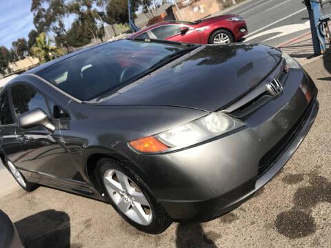2006 Honda Civic for sale at Beyer Enterprise in San Ysidro CA