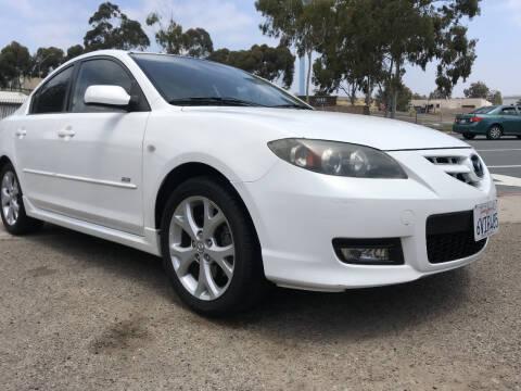 2007 Mazda MAZDA3 for sale at Beyer Enterprise in San Ysidro CA