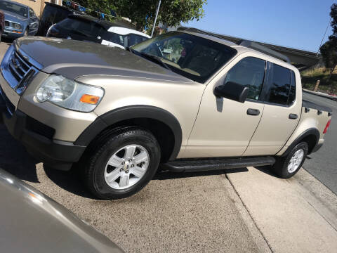 2007 Ford Explorer Sport Trac for sale at Beyer Enterprise in San Ysidro CA